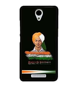 printtech Bhagat Singh Indian Back Case Cover for Xiaomi Redmi Note 2::Xiaomi Redmi Note 2 (2nd Gen)
