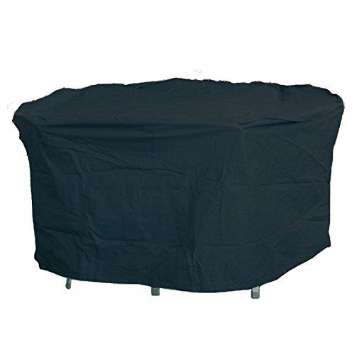 Robuste Schutzhülle für Gartentisch aus starkem Polyestergewebe anthrazit OVAL 160x95x75 kaufen