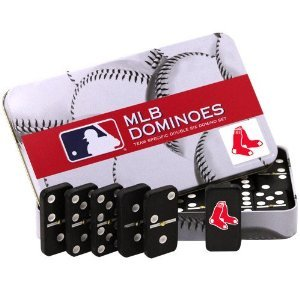 MLB Boston Red Sox Domino Set in Metal Gift Tin
