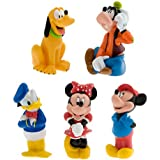 Mickey Mouse and Friends Squeeze Toy Set - 5-Pc