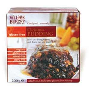 The Village Bakery Organic Christmas Pudding Gluten Free 200g