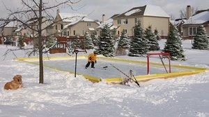 Nicerink 20' X 40' Backyard Ice Rink Kit (Cheap Hockey Ice Skates compare prices)