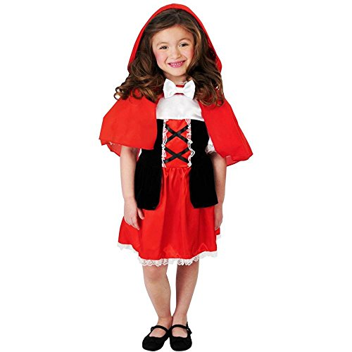 Lil Red Riding Hood Girl Kids Costume