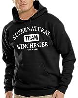 Supernatural - Team Winchester Kapuzen Sweatshirt - Pullover S-XXXL div. Farben