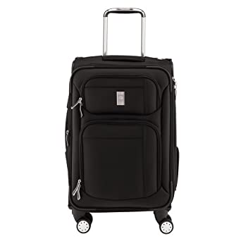 Delsey Luggage Helium Breeze 4.0 21 Inch Exp. Spinner Suiter Trolley, Black, One Size