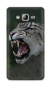 Amez designer printed 3d premium high quality back case cover for Samsung Galaxy ON7 (Leopard)