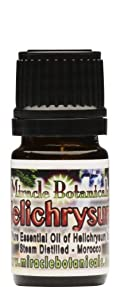 Helichrysum Essential Oil (Immortelle) - 100% Pure Helichrysum Italicum 5ml