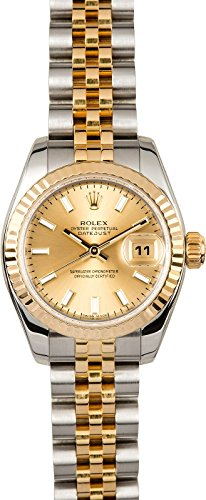 Rolex Women's Datejust 179173 -Certified Pre-Owned