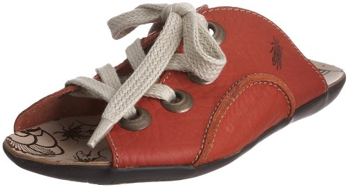 Fly London Women's Milk Red Open Toe Flat P141827004 3 UK