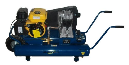 Air Compressor, 6.5 Hp Wheelbarrow Style 8 Gallon