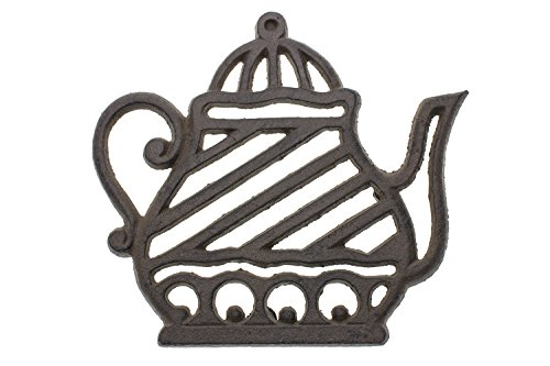 Why Should You Buy [Independence Day Sale] Cast Iron Trivet | Old Fashioned Tea Pot | Decorative Cas...