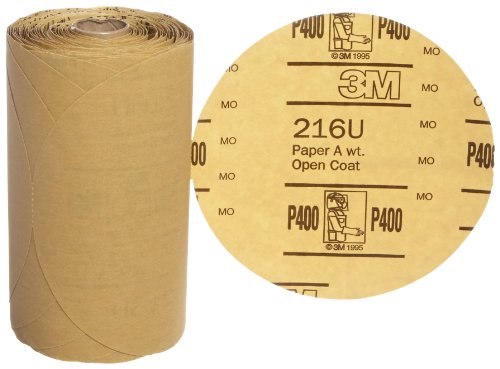 3m-stikit-gold-paper-disc-roll-216u-aluminum-oxide-6-diameter-p400-grit-roll-of-175