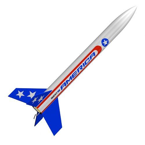 Quest Aerospace Quest America Model Rocket Kit - 1