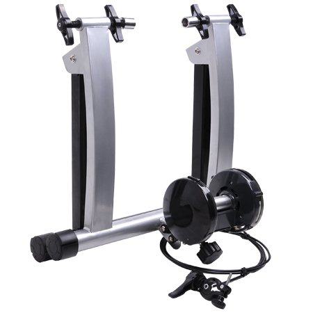 Indoor Home Cycling Stationary Magnetic Bicycle Trainer Stand w/ Shifter & 7 Resistance Levels Exercise for 26