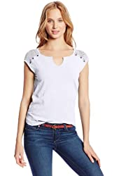 Lucky Brand Women's Tanya Yoke Top