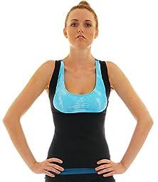 Compression Shapewear Sauna Tank Top Vest (X-Large w/Buckle)