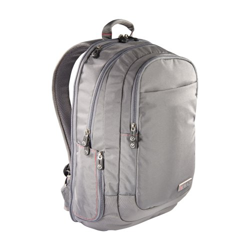 B009FWF5EA ECBC Lance Backpack for 17-Inch Laptops, Grey