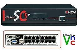 LINDY KVM Switch SC5-IP, 16 Port (32369)