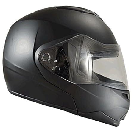 Casque moto modulable CHOK 15 - Double écran - Noir mat