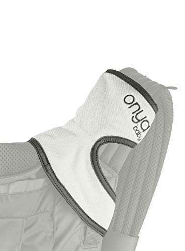 Onya Baby Chewie Baby Carrier Teething Pad - Slate Gray - 1