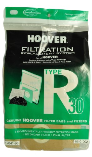 Hoover Type Hr30 Canister Vacuum Cleaner Bags back-241534