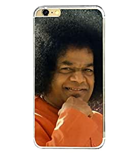 Sathya Sai Baba 2D Hard Polycarbonate Designer Back Case Cover for Apple iPhone 6 Plus :: Apple iPhone 6+