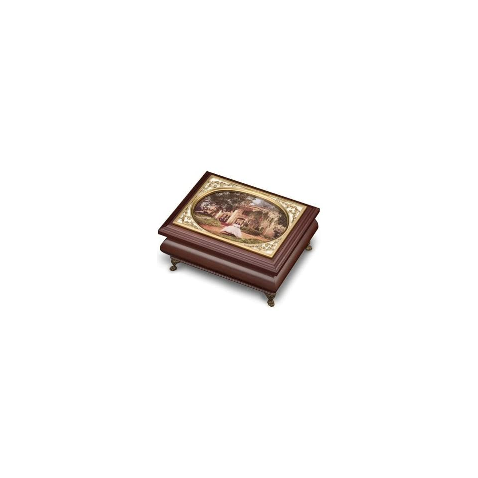 The San Francisco Music Box Company, Gone With The Wind Tara Jewelry Box