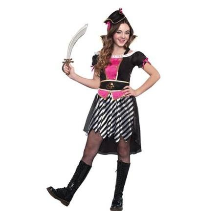 Tween Pretty Little Pirate Costume by Dreamgirl 9577 Medium WLM (Pretty Tweens)