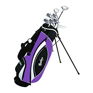 Confidence Golf LADY POWER Hybrid Club Set &#038; Stand Bag