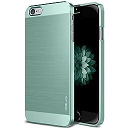 iPhone 6S Case, OBLIQ [Slim Meta][Metallic Mint] Premium Slim Fit Thin Armor All-Around Shock Resistant Polycarbonate Metallic Case for Apple iPhone 6S (2015) & iPhone 6 (2014)