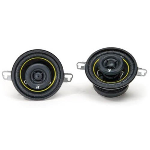 Kicker 07Ds350 3.5-Inch 89Mm Coax Speakers (Pair)
