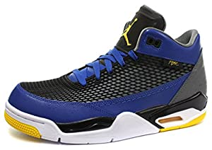 Nike Air Jordan Flight Club 80s Herren Basketball Schuhe, Blau, 42 1/2