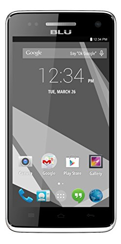 BLU Studio 5.0 C HD Quad Core - Unlocked Cell Phone - (White)