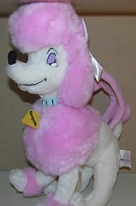 Disney Store Plush Georgette Pink Poodle Child's Purse