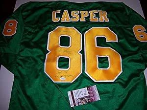 Dave Casper Signed Jersey - raiders hof Jsa coa - Autographed College Jerseys by Sports+Memorabilia