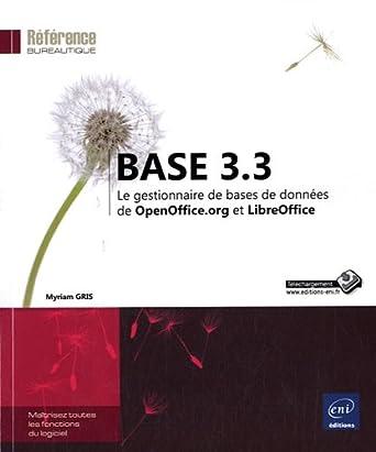 Base de donn es base 3 3 le gestionnaire de bases de donn es de et libreoffice - Open office base de donnees ...