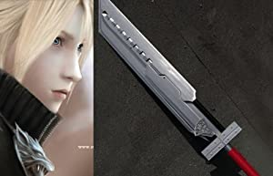 Dream2reality Cosplay Final Fantasy 7 Cloud Strife's 6 in 1 Separable Bust Swords Medium Carbon Steel Handmade
