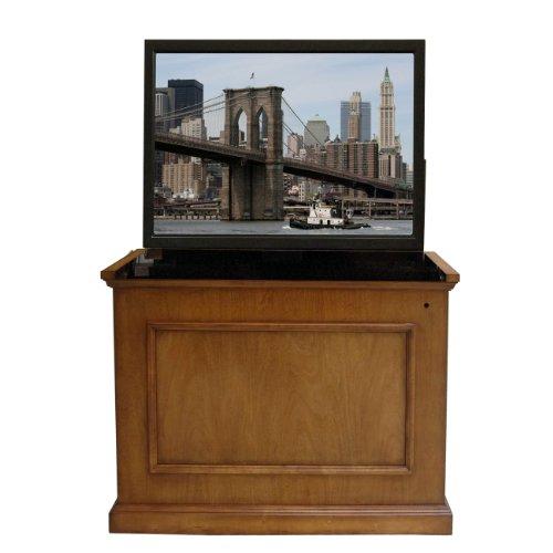 "Elevate 47"" Tv Stand Finish: Honey Oak front-941536"