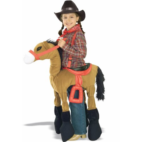 Forum Novelties Children's Costume Ride A Pony - Brown, Size-Medium