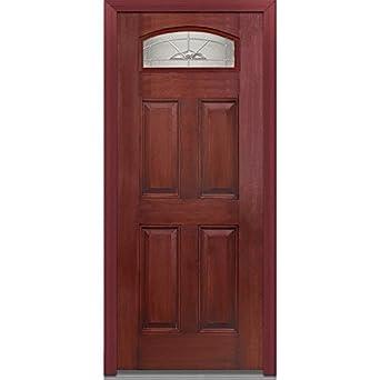 National Door Company EFM648MNN30LHWCH Fiberglass Prehung Left Hand In Swing