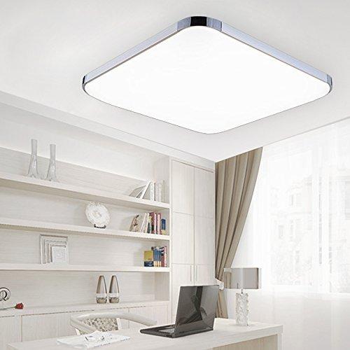 hengda 24w led deckenleuchte 85v 265v wei deckenlampe wohnzimmer k che panel lampe. Black Bedroom Furniture Sets. Home Design Ideas
