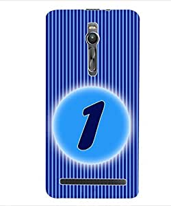 ColourCraft Numerology Number 1 Back Case Cover for ASUS ZENFONE 2 ZE551ML