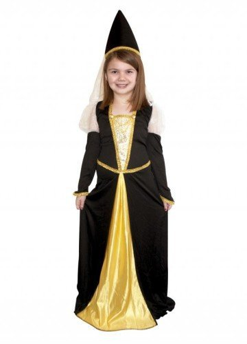 Just For Fun Medieval Queen Costume (Child Size) - Large