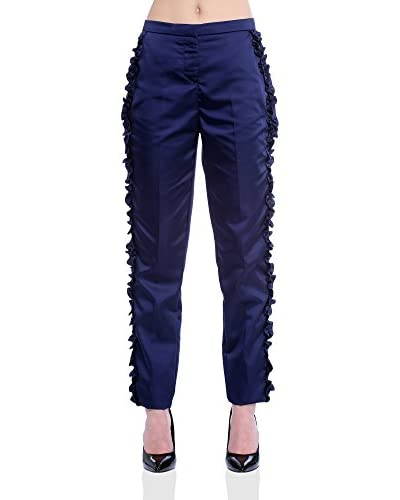 VERA RAVENNA Pantalón Azul Marino