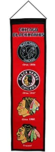 NHL Chicago Blackhawks Heritage Banner
