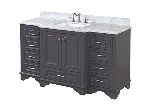 Kitchen Bath Collection Kbc12601gycarr Nantucket Single