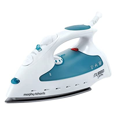 Morphy Richards Turbo 40515 1800-Watt Steam Iron (Blue and White)