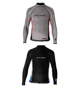 Body Glove Super Rover Long Arm Surf Shirt (Dark Grey/Char, Small)