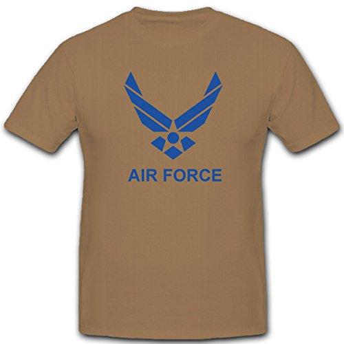 us-air-force-dallamerica-nellaria-pistola-militare-stemma-usaf-logo-distintivo-t-shirt-2209-sabbia-x