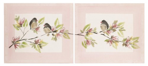 Cotton Tale Designs Nightingale 2 Piece Wall Art